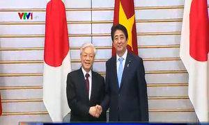 Lễ đón chính thức Tổng bí thư Nguyễn Phú Trọng tại Nhật Bản