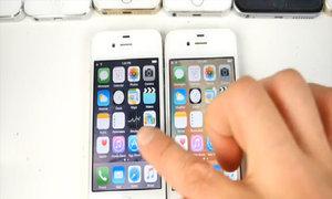 Các đời iPhone chạy iOS 9 so tốc độ với iOS 8.4.1