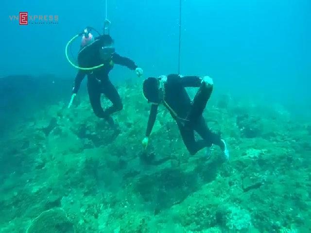 Di sản địa chất độc đáo ở vùng biển Bình Châu