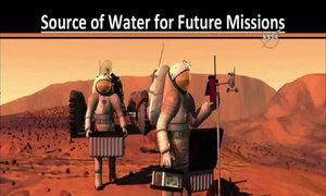 Sự biến đổi theo mùa của nước trên sao Hỏa