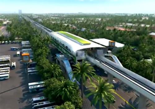 Trải nghiệm tuyến đường sắt trên cao Cát Linh  - Hà Đông