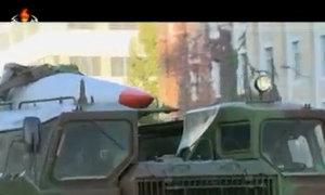 Triều Tiên khoe tên lửa trong lễ duyệt binh