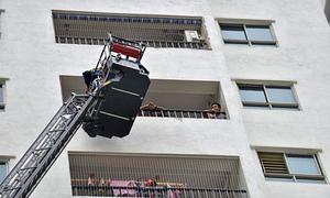 Nhiều dân chung cư lo khó thoát hiểm khi hỏa hoạn