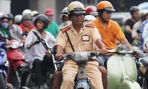 Cảnh sát bắt xe 'ma' ở Sài Gòn