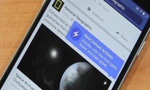 Trải nghiệm 'đọc báo tức thì' trên Facebook
