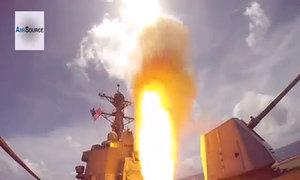 Khu trục hạm Mỹ USS Lassen khoe hỏa lực