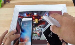 Smartphone giá 99 USD cảm biến vân tay nhạy ngang iPhone 6s