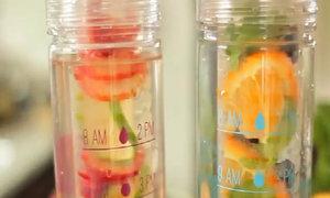 Tự làm 3 thức uống thải độc cơ thể