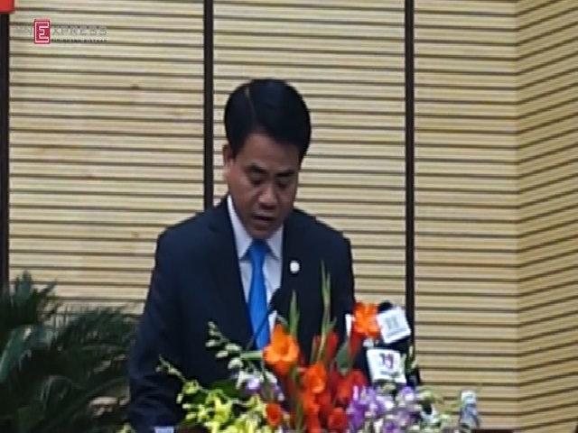 Tân chủ tịch Hà Nội phát biểu sau khi nhận chức