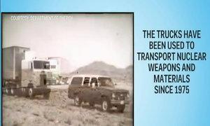 Đoàn xe bí mật vận chuyển vũ khí hạt nhân của Mỹ