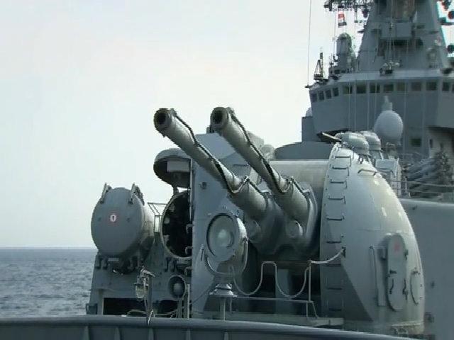 Tàu tuần dương Moskva - vệ sĩ chủ lực cho máy bay Nga tại Syria