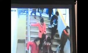 Hình ảnh động đất ở Trung Quốc vì nổ bom Triều Tiên