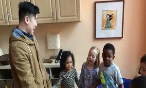 Bên trong trường mẫu giáo song ngữ Anh - Việt ở Mỹ
