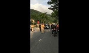 Cảnh sát Đà Nẵng 'mai phục' đoàn môtô phân khối lớn