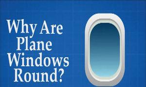 Tại sao cửa sổ máy bay luôn có hình tròn