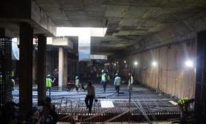 Thi công ga ngầm metro TP HCM ở độ sâu 30 m
