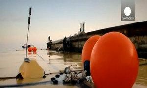 Túi khóa kéo có sức chứa 2.000 mét khối nước