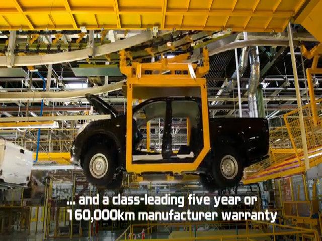 Các công đoạn sản xuất của Nissan ở nhà máy tại Barcelona, Tây Ban Nha