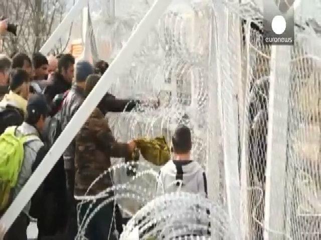 Macedonia đóng cửa biên giới, hàng nghìn người mắc kẹt ở Hy Lạp