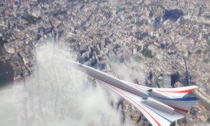 NASA chế tạo máy bay chở khách siêu thanh không gây tiếng nổ