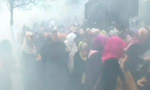 Cảnh sát Thổ Nhĩ Kỳ đụng độ người biểu tình