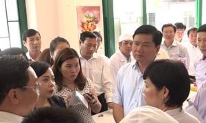 Buổi làm việc của ông Đinh La Thăng với các bệnh viện