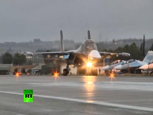 Cụm chiến đấu cơ thứ hai của Nga rời khỏi chiến trường Syria