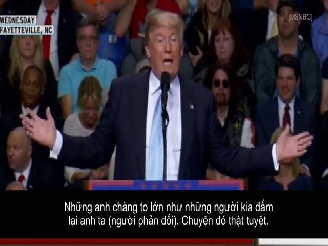 Cách phản ứng trước người gây rối của Obama và Donald Trump