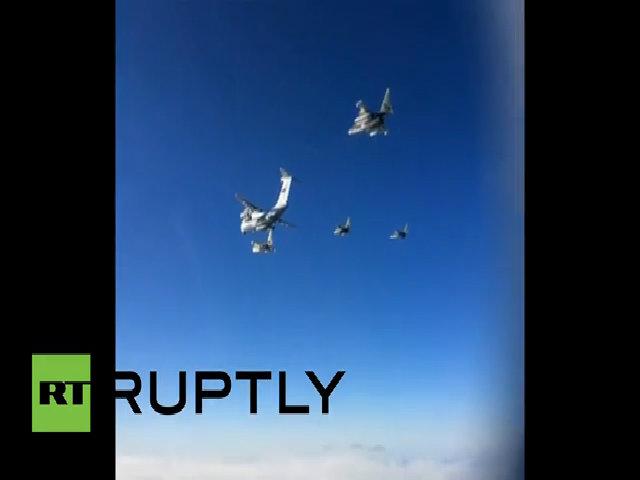 Cường kích Su-24 trở về Nga từ Syria