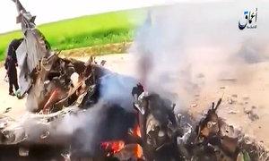 IS công bố video máy bay quân sự Iraq đâm xuống đất
