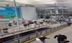 Hai vụ nổ lớn làm hành khách tháo chạy khỏi sân bay Bỉ