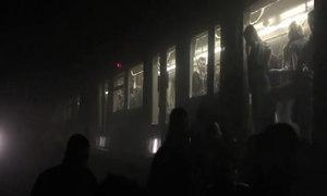 Bên trong tàu điện ngầm xảy ra vụ nổ thứ ba ở Brussels