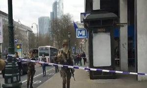 Quân đội Bỉ phong tỏa ga tàu ở Brussels sau vụ nổ