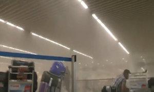 Bên trong nơi bị đánh bom ở sân bay Bỉ