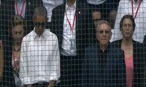 Obama và Castro tưởng niệm nạn nhân khủng bố tại Bỉ