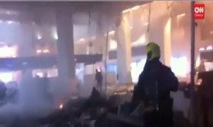 Hình ảnh mới trong sân bay Brussels ngay sau vụ đánh bom