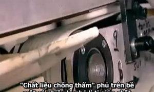 Quy trình sản xuất băng vệ sinh phụ nữ