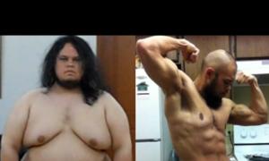 3 năm tập luyện cơ bắp của chàng 160 kg