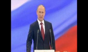 Putin tuyên thệ nhậm chức tổng thống Nga năm 2012