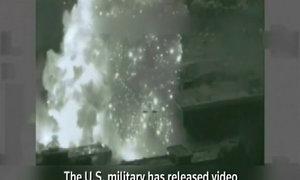 Xưởng vũ khí hóa học IS tan tành dưới đòn không kích Mỹ