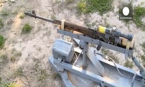 IS chế tạo được súng máy điều khiển từ xa