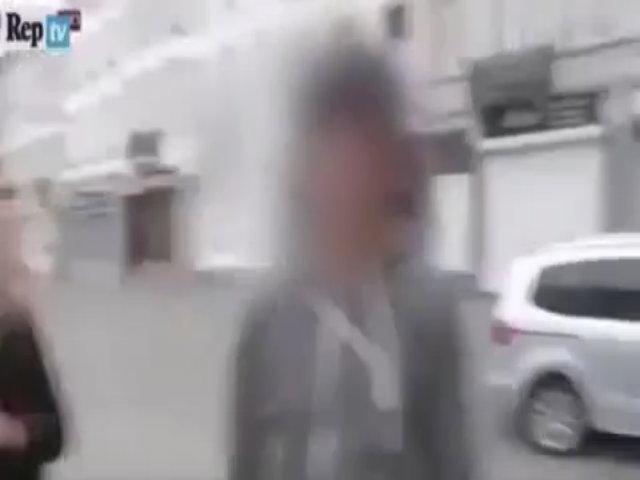 Tường thuật trực tiếp ở xóm liều nước Bỉ, nữ phóng viên bị tấn công