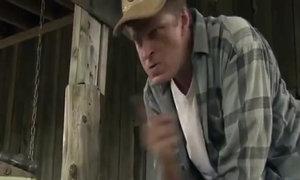 Anh chàng điên tức vì bị đàn gà trêu chọc