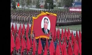 Quân đội Triều Tiên diễu binh thề trung thành với Kim Jong-un