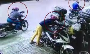 Băng đảng 4 người đàn bà 'dàn trận' ăn trộm đồ