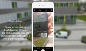 Ý tưởng iOS 10 với camera quét mã vạch