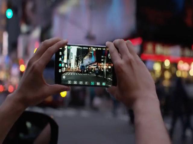 Ổn định khung hình trên LG V10