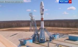 Nga phóng thành công tên lửa đầu tiên từ sân bay vũ trụ mới