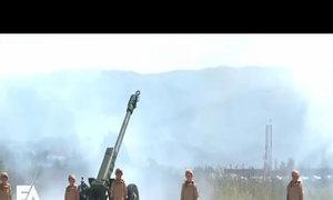 Nga phô diễn S-400 trong lễ duyệt binh tại Syria