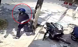Tên trộm xe máy bỏ chạy trối chết vì bị bắt quả tang (P2)